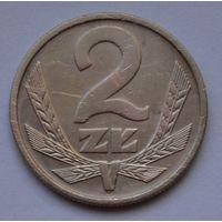 Польша 2 злотых, 1975 г.