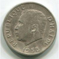 ГАИТИ - 5 САНТИМ 1958