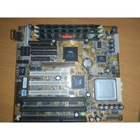 Материнская платa Super Socket 7 Chaintech 5AGM2-H150 AGP + AMD k6-2/350AFR + 768 mb sdram