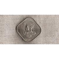 Гернси 10 шиллингов 1966(Ah)