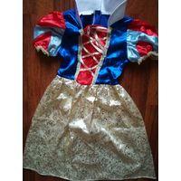 Платье Белоснежки 122-128