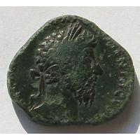Римская империя, Марк Аврелий, сестерций.