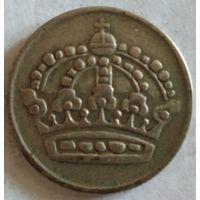 Швеция 50 эре 1955 серебро