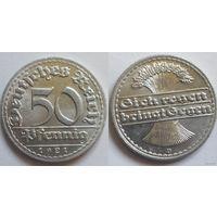 50 пфеннингов 1921 сохран