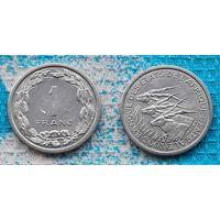Центральная Африка 1 франк 2003 года. UNC. RR Инвестируй в монеты планеты!