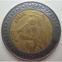 Алжир 20 динаров 2013 г. (d)