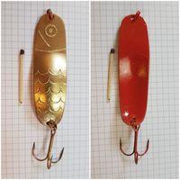 Блесна тяжелая 45 грамм СССР колебалка в коллекцию настоящему рыбаку