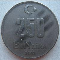 Турция 250000 лир 2003 г. (g)