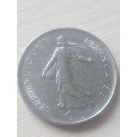 Франция 5франков 1971г.