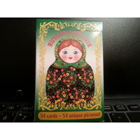 Игральные карты  Русский сувенир
