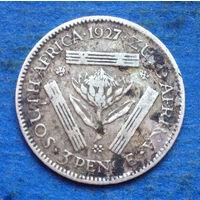 Южная Африка Британский доминион 3 пенса 1927 Георг V