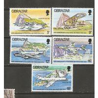 Гибралтар 1978 Самолеты
