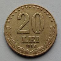 Румыния 20 леев. 1993