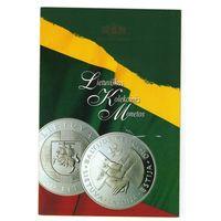 """Литва :: рекламный буклет  монет """"Baltijos Kelio"""" (1999)"""