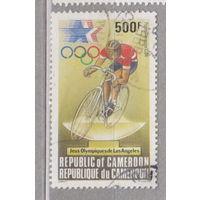 Спорт Авиапочта 1984 - Олимпийские игры - Лос-Анджелес, США Камерун 1984 год лот 14 менее 30 % от каталога