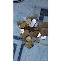 Монеты Украины 150шт