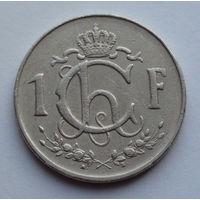 Люксембург 1 франк. 1960