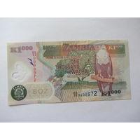 Замбия, 1000 , 2011 г.