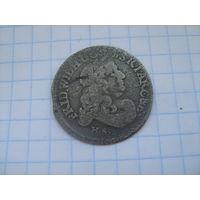 Пруссия 6 грошей 1682г.
