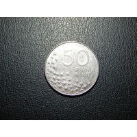 Финляндия 50 пенни 1990