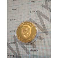 Настольная медаль (жетон) Государственный институт повышения квалификации и переподготовки кадров таможенных органов РБ