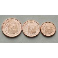 Испания лот евроцентов (1-ий тип)