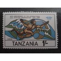 Танзания 1984 40 лет ICAO, Икар