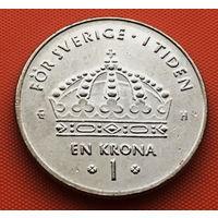115-09 Швеция, 1 крона 2005 г.