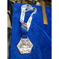 Медаль Минского полумарафона 10.09.2017 г., 5,5 км.