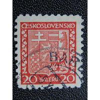 Чехословакия  1929 г. Герб.