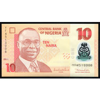 Нигерия / NIGERIA_2011_10 Naira_P#39.c_UNC