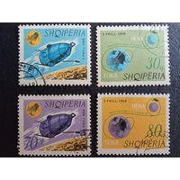 Албания.1966г. Спутник Луна-10.