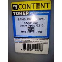 Тонер для HP и Samsung картриджей