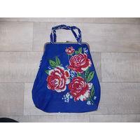 Винтажная сумка женская 60-е года, женская сумка ссср