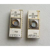 Микросхема памяти УФ-ППЗУ К573РФ42Б набор 2 шт цена за пару 1987 год