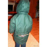 Куртка  парка Дисней для ребёнка до 4 лет  тёплая