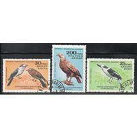 Птицы Мадагаскар 1982 серия из 3-х марок