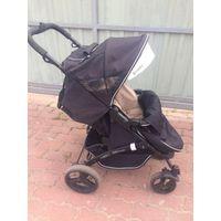 Коляска прогулочная Coletto aveo comfor, цвет черный с бежевым. Коляска в хорошем состоянии, удобная, как малышу, так и для мамы. Хорошо передвигается.