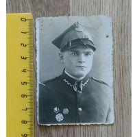 Фото старинное солдат