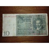 Германия 10 марок 1929
