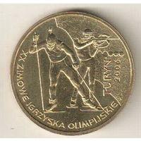 Польша 2 злотый 2006 XX зимние Олимпийские игры, Турин 2006