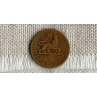 Эфиопия 5 центов  1944 ///(ON)