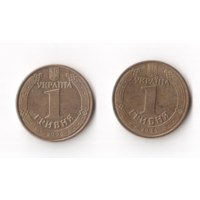 1 гривня гривна 2006 год Украина Владимир Великий
