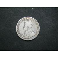 Ньюфаундленд 25 центов 1917 г.