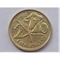 Свазиленд 2 эмалангени 2003