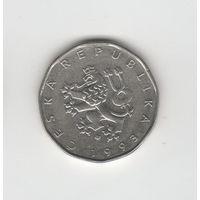2 кроны Чехия 1993 Лот 3370