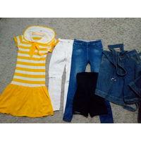 Джинсы, платье, шорты детские