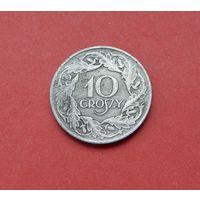 10 грошей 1923 (цинк) Польша. Немецкая оккупация