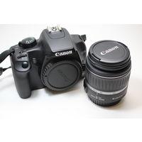 Зеркальный фотоаппарат Canon EOS 1000D + объектив Canon EF-S 18-55mm