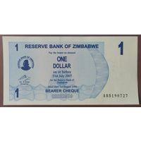 1 доллар 2006 года - Зимбабве - UNC